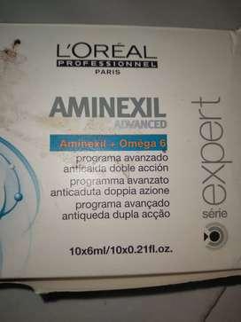 Loreal Ampolla Aminexil Advance Por 10 Unidades