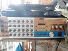 2parlantes y amplificador