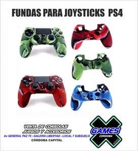 FUNDAS SILICONA PARA MANDOS PS4