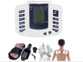 Monitor Gimnasia Terapia Electro Masajeador Muscular Con Chanclas