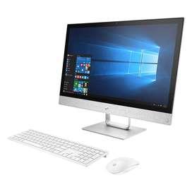 computador ALL IN ONE de mesa AIO HP 4GB 1TB AMD