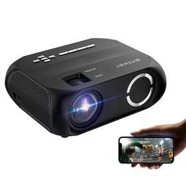 Proyector Video Beam LED HD 720p Nativo 6000Lumen Portable Home Theater MiraCast Super Parlante Oferta - 03333