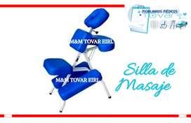 silla ortopédica masajes de cuello espalda y hombros