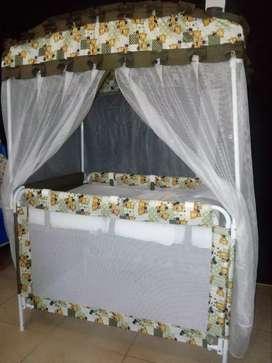 Hermosa Cuna  casita para niño