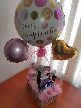 Arreglos para cumpleaños, aniversarios y otros