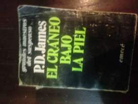 Libro El cráneo bajo la piel P D James