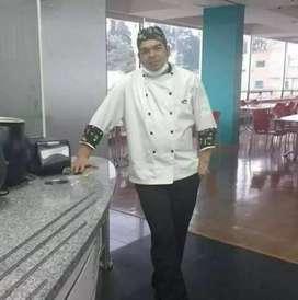 Busco empleo como chef cocinero 12 años de experiencia en el área laboral amplió conocimiento