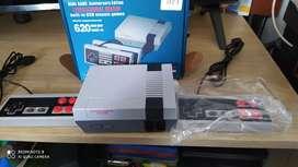 Nintendo retro con 620 juegos
