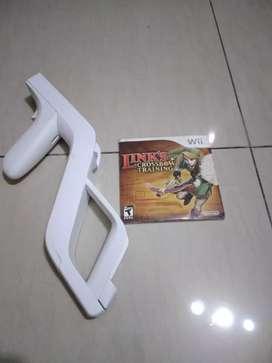 Wii zapper y juego