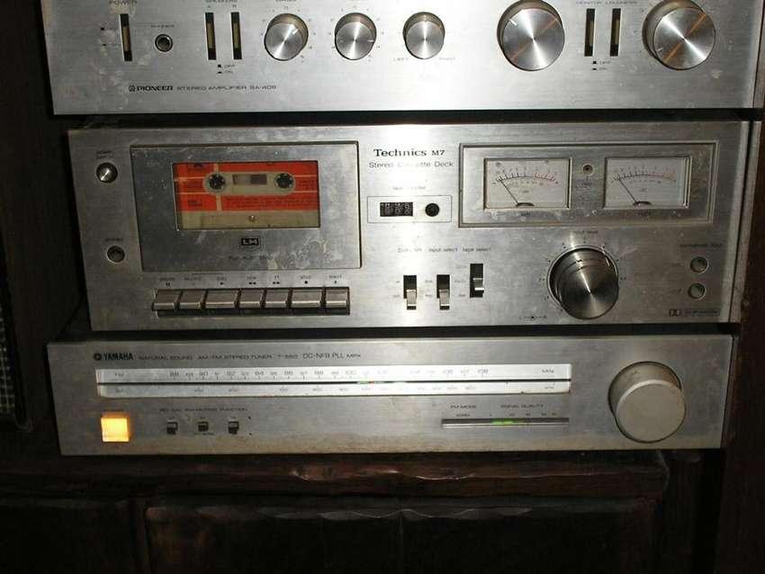 CENTRO MUSICAL TORRE .PIONNER TECHNICS YAMAHA JVC..EXCELENTE SONIDO 0