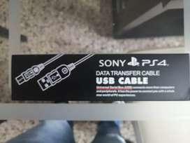 Cable carga  y juega y datos play 4