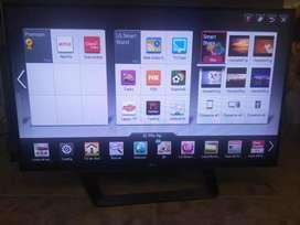 TV de 43pulg Lg smart TV, 3D con sus lentes