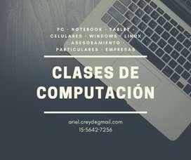 Clases de computación