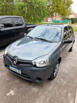 Vendo Renault Clio Mio 2016 c/gnc. Inmaculado