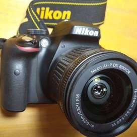 Camara reflex Nikon D3300 como nueva.