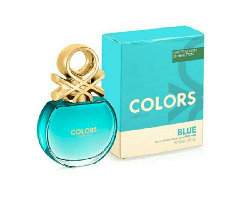 PERFUME BENETTON COLORS BLUE MUJER