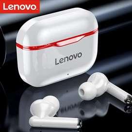 Audífonos inalambricos Lenovo Bluetooth Livepods Lp1 Control De Volumen