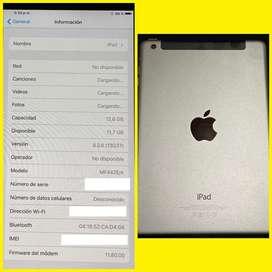 Ipad mini 16gb / WI-FI + celular