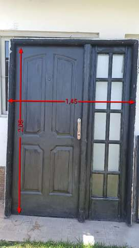 Puerta exterior de chapa inyectada
