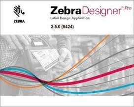 CODIGOS DE BARRAS ZEBRA DESIGNER V2 CREA ETIQUETAS  CHAVEZ COMPUTACION