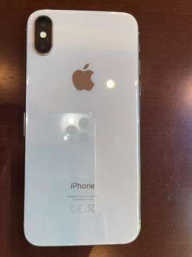 Vendo iphone X 64 gb, impecable, usado, zona nunez, funciona perfecto