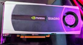 Nvidia Quadro 6000 6GB GDRR5 3D Problemas de video