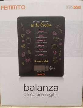 BALANZA DIGITAL DE COCINA