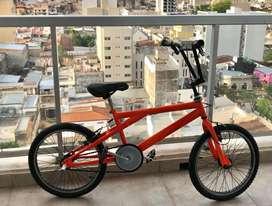 Bicicleta Halley Freestyle rodado 20 Acero - 48 rayos.