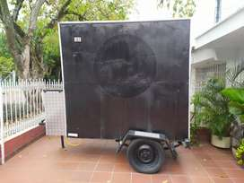 vende trailer de comidas (Foodtruck)
