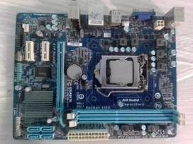 Placa socket 1155 GA-H61M-DS2 segunda y tercera generacion GIGABYTE  PARA COMPUTADORA