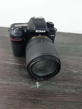 Vendo camara Nikon D7500