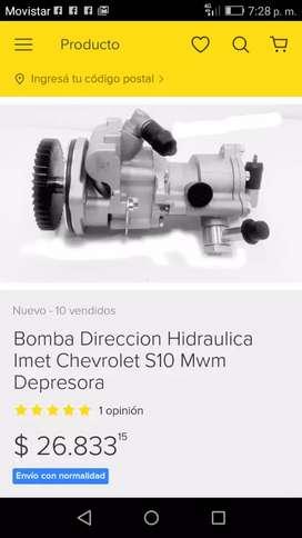 Bonba hidraulica s10  blazer y depresor
