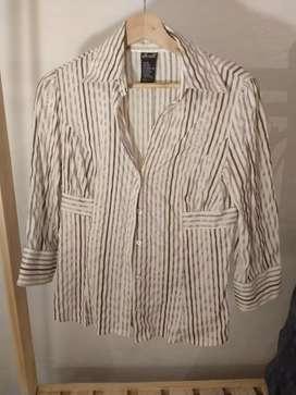 Camisa rayada de mujer