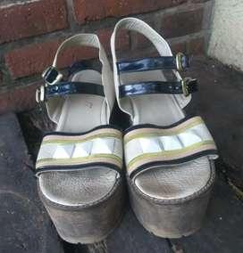 Sandalias usadas mujer