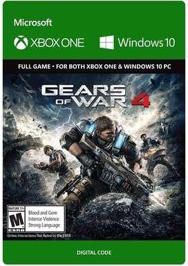 Gears of War 4 XBOX One Codigo Global