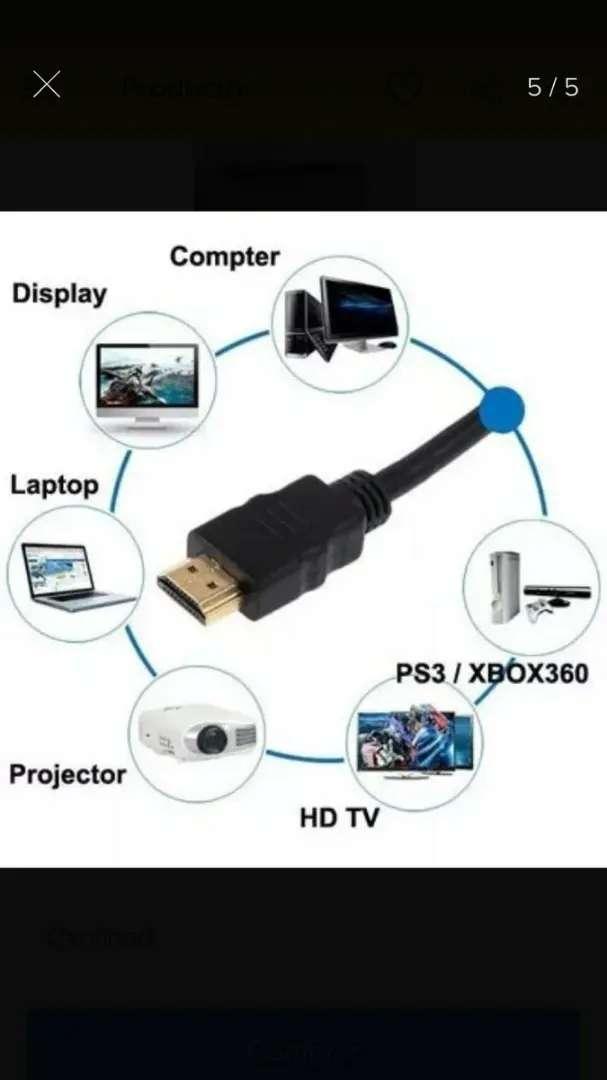 Cable HDMI 2 metros (nuevo) 0