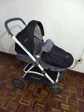 Coche y huevito Premium Baby Aluminium