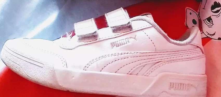 Vendo zapatillas de niño usadas talla 31 puma estado 8