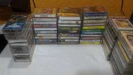 Lote casette música popular 60 unidades