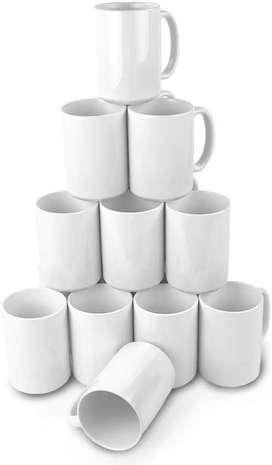 Caja Mugs blanco X 36 Unidades