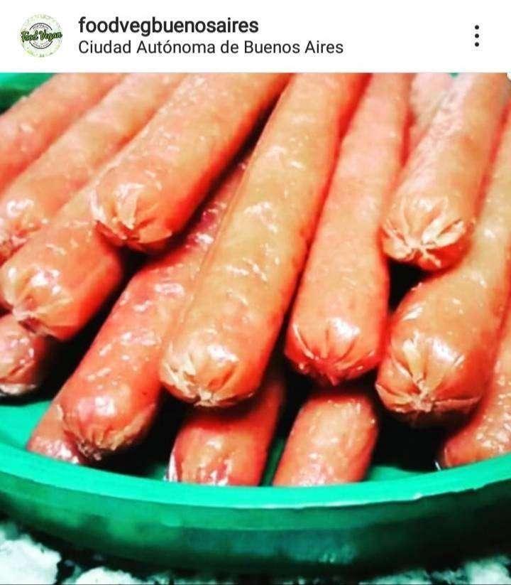 Salchichas veganas 0