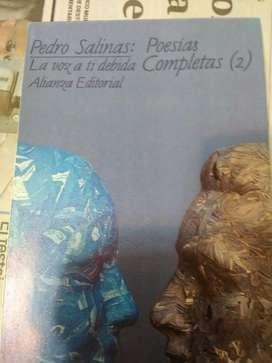 La voz a tí debida Pedro Salinas