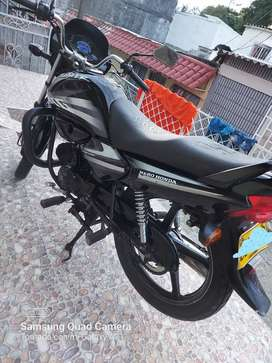 Honda Splendor Color Negro 100 cc