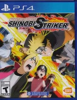 Naruto to Boruto Shinobi Striker PS4 NUEVO