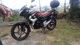 Vendo urgente moto gs 150 R mod 2015 en 3000.0000 negociables