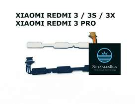 Repuesto Xiaomi Redmi 3 / 3s /3x /3 Pro / Flex Encendido / Volumen
