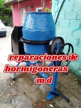 reparaciones de maquinas hormigoneras M D