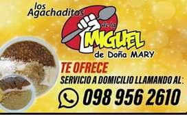 Agachaditos de la Miguel de Doña Mary