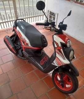 Moto yamaha bwis modelo 2014