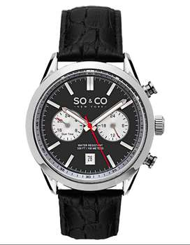 Reloj SO & CO New York original doble hora NUEVO no guess tommy ck seiko invicta